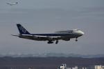tupolevさんが、新千歳空港で撮影した全日空 747-481(D)の航空フォト(写真)