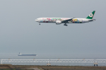 Kunikさんが、関西国際空港で撮影したエバー航空 777-35E/ERの航空フォト(写真)