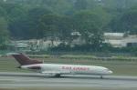 たのさんが、シンガポール・チャンギ国際空港で撮影したトランスマイル・エア・サービス 727-247/Adv(F)の航空フォト(写真)