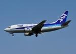 じーく。さんが、福岡空港で撮影したANAウイングス 737-54Kの航空フォト(飛行機 写真・画像)