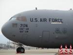 mumbo29さんが、伊丹空港で撮影したアメリカ空軍 C-17A Globemaster IIIの航空フォト(写真)