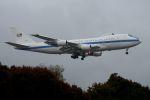 うめやしきさんが、横田基地で撮影したアメリカ空軍 E-4B (747-200B)の航空フォト(飛行機 写真・画像)