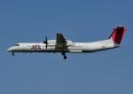 じーく。さんが、福岡空港で撮影した日本エアコミューター DHC-8-402Q Dash 8の航空フォト(飛行機 写真・画像)