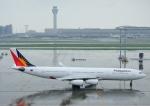 じーく。さんが、羽田空港で撮影したフィリピン航空 A340-313Xの航空フォト(飛行機 写真・画像)