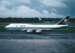 kumagorouさんが、シンガポール・チャンギ国際空港で撮影したサウジアラビア航空 747-368の航空フォト(飛行機 写真・画像)