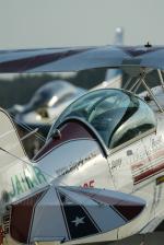 岡崎美合さんが、新田原基地で撮影したエアロック・エアロバティックチーム S-2B Specialの航空フォト(写真)