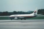 kumagorouさんが、クアラルンプール国際空港で撮影したマレーシア航空 737-4Q8の航空フォト(写真)