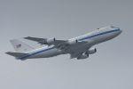 うめやしきさんが、横田基地で撮影したアメリカ空軍 E-4B (747-200B)の航空フォト(写真)