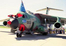 空の旅人さんが、米子空港で撮影した航空自衛隊 C-1の航空フォト(写真)