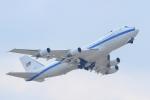 AkilaYさんが、横田基地で撮影したアメリカ空軍 E-4B (747-200B)の航空フォト(写真)