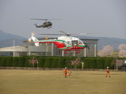 kumagorouさんが、宮城県角田市(角田中央公園)で撮影した宮城県防災航空隊 BK117C-2の航空フォト(飛行機 写真・画像)