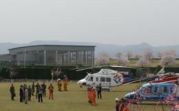 kumagorouさんが、宮城県角田市(角田中央公園)で撮影した福島県消防防災航空隊 412EPの航空フォト(写真)