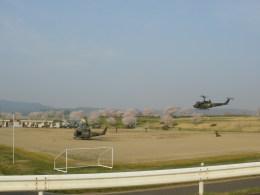 kumagorouさんが、宮城県角田市(角田中央公園)で撮影した陸上自衛隊 UH-1Jの航空フォト(写真)