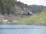 kumagorouさんが、宮城県角田市尾山地区で撮影した陸上自衛隊 UH-1Jの航空フォト(飛行機 写真・画像)