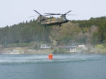 kumagorouさんが、宮城県角田市尾山地区で撮影した陸上自衛隊 CH-47J Chinookの航空フォト(飛行機 写真・画像)