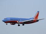 うっきーさんが、ロサンゼルス国際空港で撮影したサウスウェスト航空 737-3Q8の航空フォト(写真)