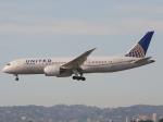うっきーさんが、ロサンゼルス国際空港で撮影したユナイテッド航空 787-8 Dreamlinerの航空フォト(写真)