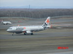 鬼の手さんが、新千歳空港で撮影したジェットスター・ジャパン A320-232の航空フォト(写真)