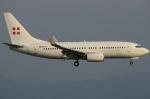 なぁちゃんさんが、関西国際空港で撮影したプライベートエア 737-7CN BBJの航空フォト(飛行機 写真・画像)