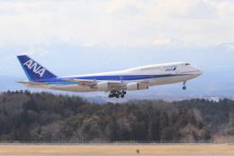 安芸あすかさんが、福島空港で撮影した全日空 747-481(D)の航空フォト(飛行機 写真・画像)