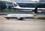 amagoさんが、ドンムアン空港で撮影したプレジデント・エアラインズ 737-2K3/Advの航空フォト(写真)