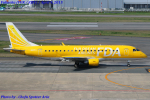 Chofu Spotter Ariaさんが、福岡空港で撮影したフジドリームエアラインズ ERJ-170-200 (ERJ-175STD)の航空フォト(飛行機 写真・画像)