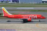 Chofu Spotter Ariaさんが、福岡空港で撮影したフジドリームエアラインズ ERJ-170-100 (ERJ-170STD)の航空フォト(飛行機 写真・画像)