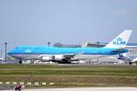 tsubasa0624さんが、成田国際空港で撮影したKLMオランダ航空 747-406の航空フォト(飛行機 写真・画像)