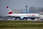 tsubasa0624さんが、成田国際空港で撮影したオーストリア航空 777-2Z9/ERの航空フォト(飛行機 写真・画像)