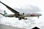 tsubasa0624さんが、成田国際空港で撮影したエバー航空 777-35E/ERの航空フォト(写真)