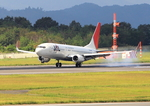 ふじいあきらさんが、広島空港で撮影したJALエクスプレス 737-846の航空フォト(写真)