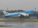aquaさんが、成田国際空港で撮影したKLMオランダ航空 747-406Mの航空フォト(写真)