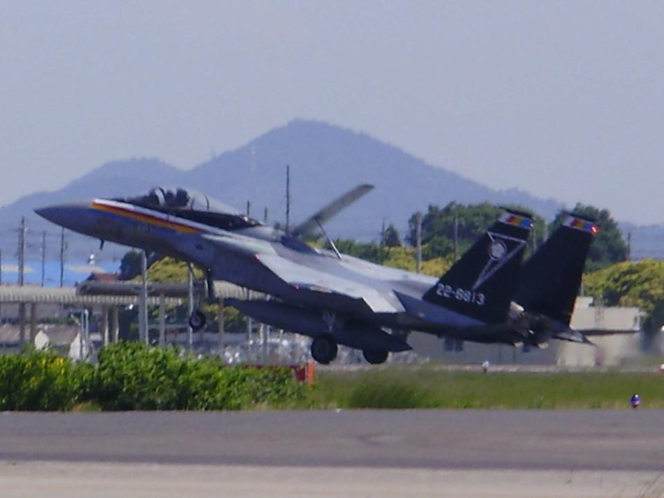 F-2A#533さんの航空自衛隊 Mitsubishi F-15J Eagle (22-8813) 航空フォト