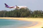 Meggyさんが、プーケット国際空港で撮影したタイ国際航空 A330-343Xの航空フォト(写真)
