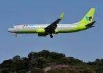 じーく。さんが、福岡空港で撮影したジンエアー 737-8B5の航空フォト(写真)