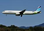 じーく。さんが、福岡空港で撮影したエアプサン A321-231の航空フォト(飛行機 写真・画像)