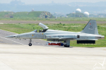 Peter Hoさんが、新竹飛行場で撮影した中華民国空軍 F-5E Tiger IIの航空フォト(写真)