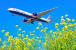 パンダさんが、成田国際空港で撮影したブリティッシュ・エアウェイズ 777-336/ERの航空フォト(飛行機 写真・画像)