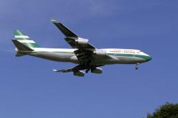 senyoさんが、成田国際空港で撮影したキャセイパシフィック航空 747-467の航空フォト(飛行機 写真・画像)