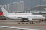 よっしぃさんが、香港国際空港で撮影したダイナミック・エアウェイズ 767-233の航空フォト(写真)