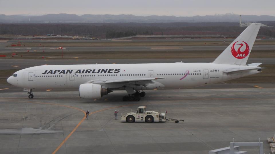 ゴンタさんの日本航空 Boeing 777-200 (JA8983) 航空フォト