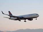 わたくんさんが、福岡空港で撮影したデルタ航空 767-3P6/ERの航空フォト(写真)