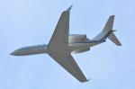 パンダさんが、成田国際空港で撮影したユタ銀行 G-IV-X Gulfstream G450の航空フォト(飛行機 写真・画像)