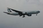 北の熊さんが、新千歳空港で撮影したキャセイパシフィック航空 777-267の航空フォト(飛行機 写真・画像)