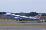 T.Sazenさんが、成田国際空港で撮影した中国国際貨運航空 747-4FTF/SCDの航空フォト(飛行機 写真・画像)