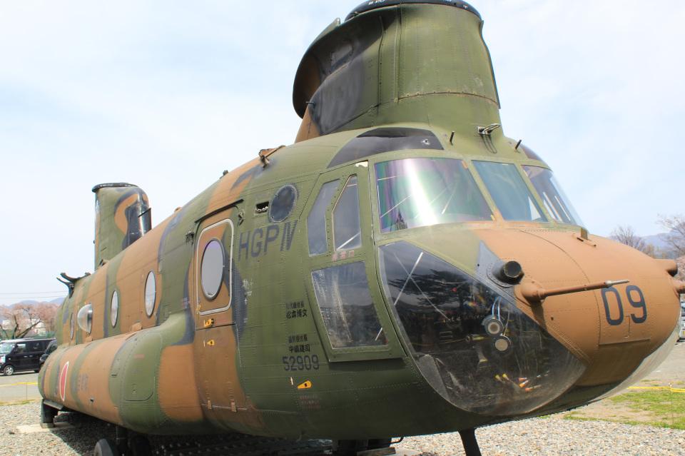 takaRJNSさんの陸上自衛隊 Kawasaki CH-47J Chinook (52909) 航空フォト