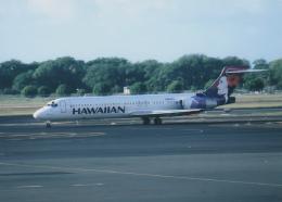 kumagorouさんが、ダニエル・K・イノウエ国際空港で撮影したハワイアン航空 717-22Aの航空フォト(写真)