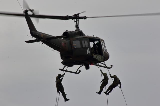 ティーガーさんが、板妻駐屯地で撮影した陸上自衛隊 UH-1Jの航空フォト(飛行機 写真・画像)