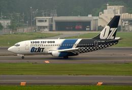 VQ-BELさんが、成田国際空港で撮影したオズジェット 737-229/Advの航空フォト(飛行機 写真・画像)