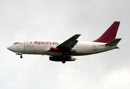 VQ-BELさんが、シンガポール・チャンギ国際空港で撮影したメガンタラ・エア 737-209/Adv(F)の航空フォト(飛行機 写真・画像)